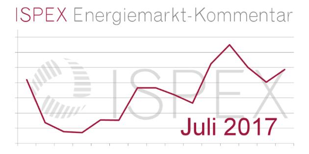 ISPEX Energiemarkt Kommentar Juli Beitragsbild
