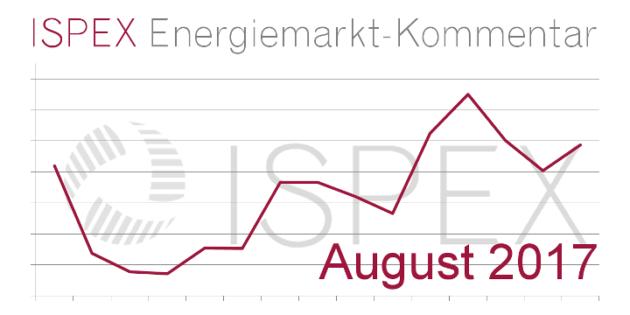 ISPEX Energiemarkt-Kommentar 08 2017