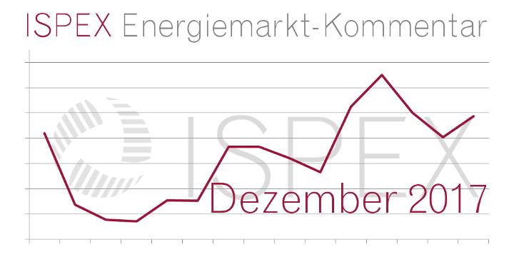 ISPEX Energiemarkt Kommentar Dezember