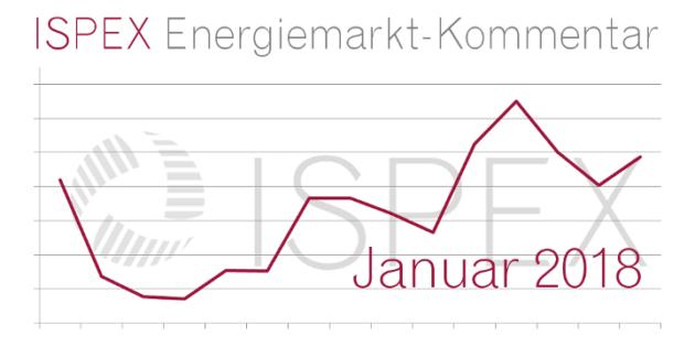 ISPEX Energiemarkt-Kommentar Januar 2018