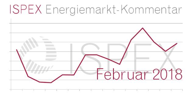 ISPEX Energiemarkt-Kommentar Februar 2018 Beitragsbild