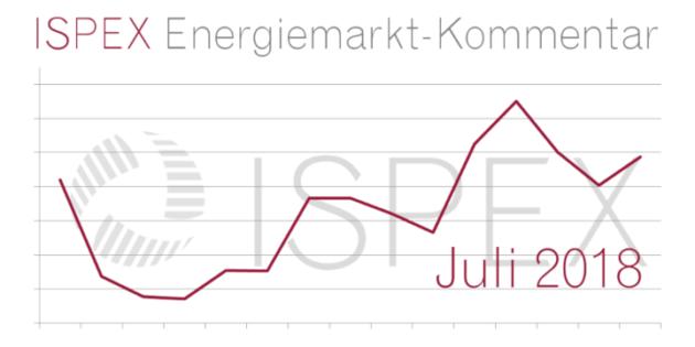 ISPEX Energiemarkt Kommentar Juli 2018 Beitragsbild