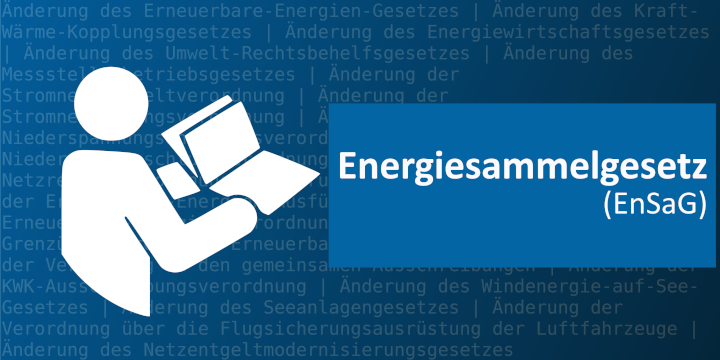EnSaG Energiesammelgesetz