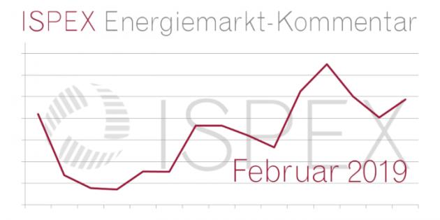 ISPEX Energiemarkt Kommentar Februar Beitragsbild 2019