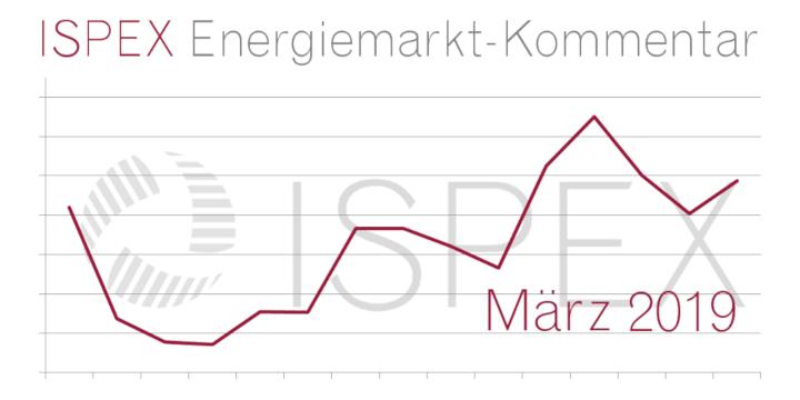 ISPEX Energiemarkt Kommentar März 2019 Beitragsbild