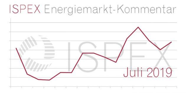 ISPEX Energiemarkt Kommentar Juli 2019