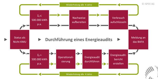 ISPEX Energieaudit Durchführung
