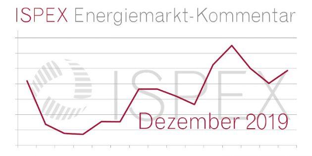 ISPEX Energiemarkt Kommentar Dezember 2019