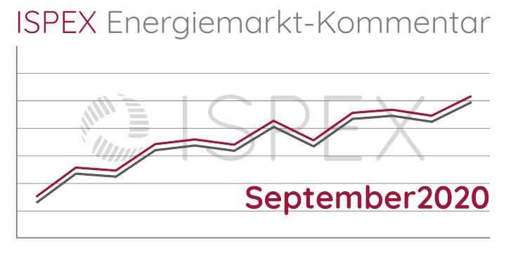 ISPEX, Energiemarkt, Kommentar, September, Strom, Gas, Erdgas