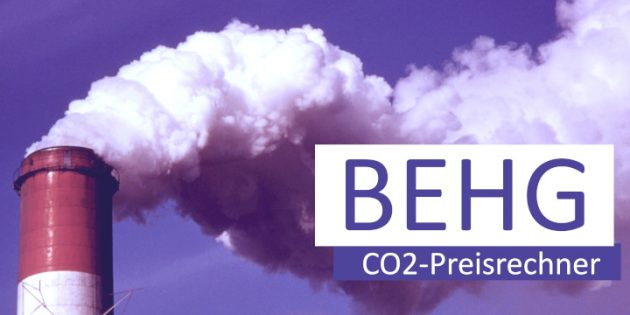 BEHG, CO2-Preisrechner, Brennstoffemissionshandel, Kosten, Unternehmen
