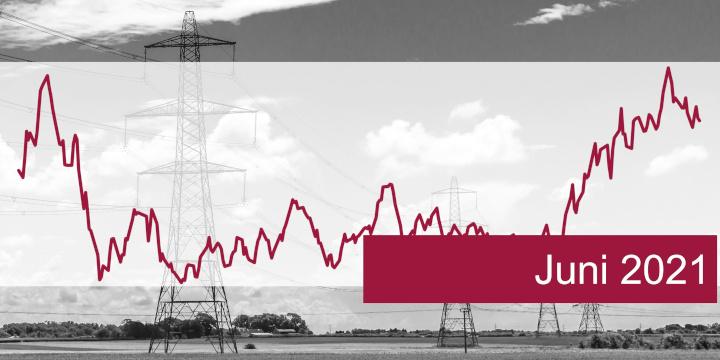 ISPEX, Energiemarkt, Kommentar, Strom, Gas, Erdgas, Juni 2021