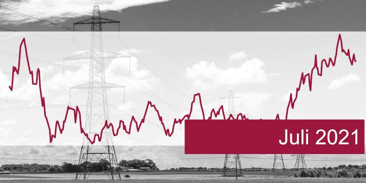 ISPEX, Energiemarkt, Kommentar, Strom, Gas, Erdgas, Juli 2021