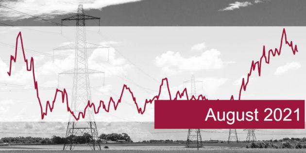 ISPEX, Energiemarkt, Kommentar, Strom, Gas, Erdgas, August 2021