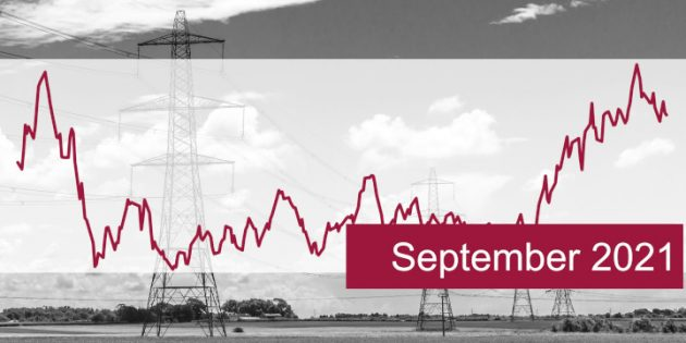 ISPEX, Energiemarkt, Kommentar, Strom, Gas, Erdgas, September 2021